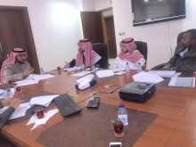 فريق النظام الإحصائي يعقد إجتماعه في المركز