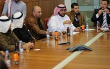 المجلس الاستشاري بالمركز في ضيافة عمادة تقنية المعلومات والتعليم عن بعد